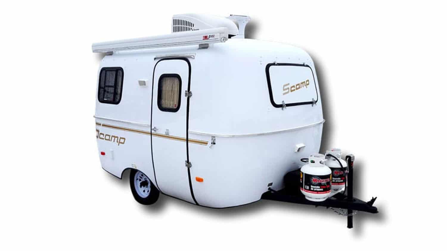 Scamp Trailers with Bathrooms