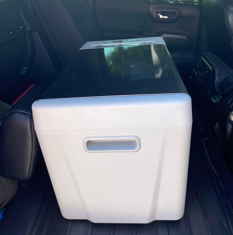 BougeRV Refrigerator in Truck