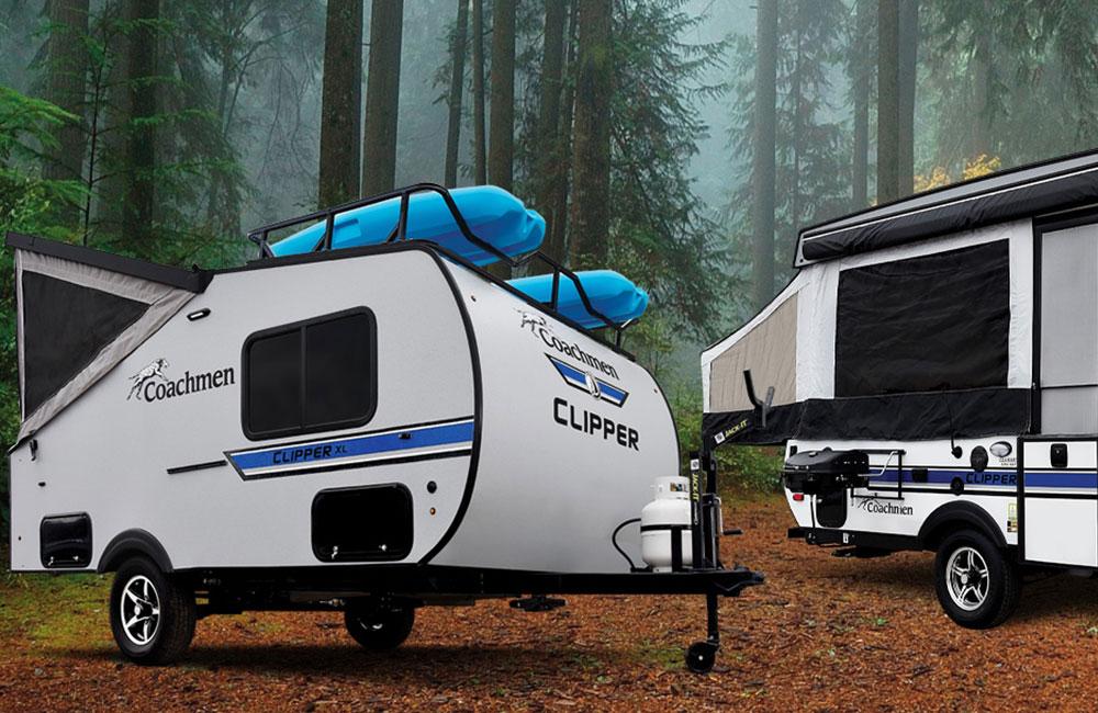 coachmen clipper camper